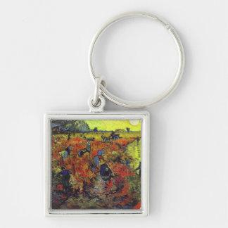 Le Vinyard rouge par Vincent van Gogh Porte-clés