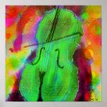 Le violoncelle d'Apple Posters