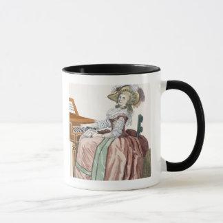 """Le Virtuosa dans une robe """"un l'Anglaise"""" avec une Mugs"""