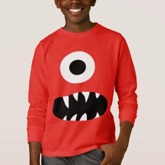 Le visage observé de monstre du géant le drôle t-shirt