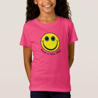Le visage souriant jaune ont un beau jour T-Shirt