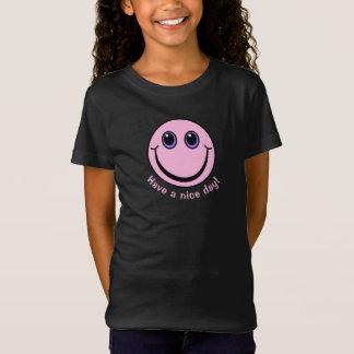Le visage souriant rose ont un beau jour T-Shirt