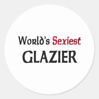 Le vitrier le plus sexy du monde autocollants