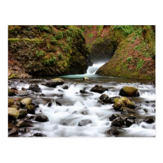 Le voile nuptiale tombe carte postale de cascade