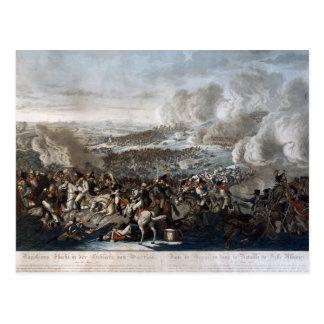 Le vol du napoléon de la bataille de waterloo carte postale