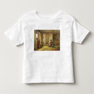 Le volant égaré (huile sur la toile) t-shirt pour les tous petits