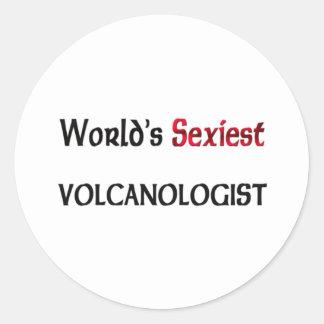 Le volcanologue le plus sexy du monde autocollants