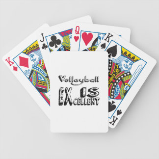 Le volleyball est excellent jeu de cartes