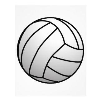 Le volleyball fait sur commande folâtre le produit prospectus 21,6 cm x 24,94 cm