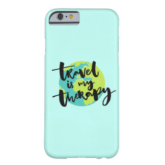Le voyage est ma thérapie coque barely there iPhone 6