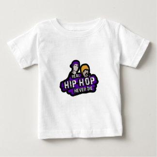 Le vrai hip hop ne meurent jamais t-shirt pour bébé