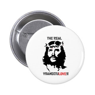 Le vrai révolutionnaire badge