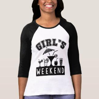 Le week-end de la fille t-shirt