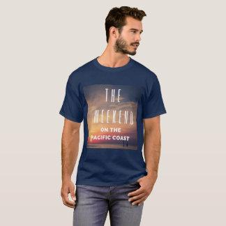 Le week-end sur le T-shirt de Côte Pacifique