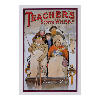 Le whisky écossais du professeur posters