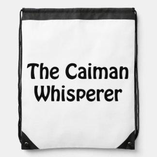 le whisperer de caiman sac à dos