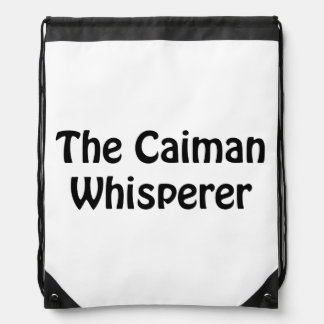 le whisperer de caiman sac avec cordons