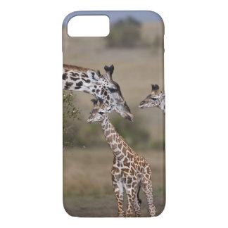 Le wie de girafe de Maasai (girafe Tippelskirchi) Coque iPhone 7