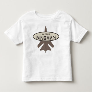 Le Wingman du papa T-shirt Pour Les Tous Petits