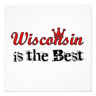Le Wisconsin est le meilleur Faire-part Personnalisables
