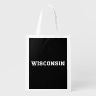 Le Wisconsin Sac Réutilisable
