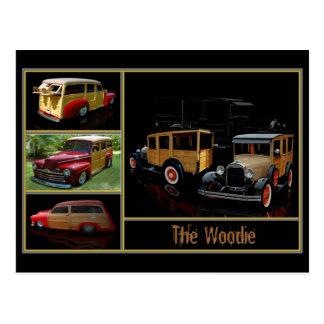 Le Woodie Carte Postale