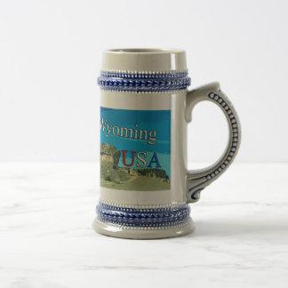 Le Wyoming Etats-Unis Stein Chope À Bière