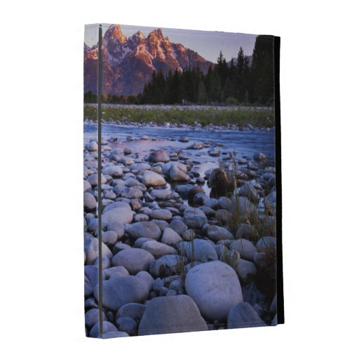Le Wyoming, parc national de Teton, la rivière Coque Folio iPad