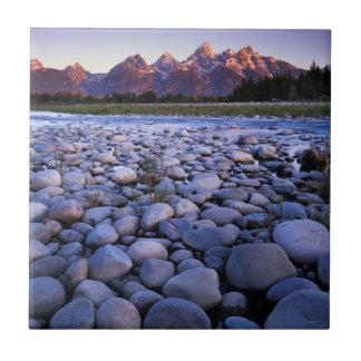 Le Wyoming, parc national de Teton, la rivière Petit Carreau Carré