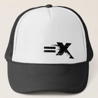 Le =X fermé vers le haut de N écoutent Casquette De Camionneur