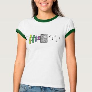Le xylophone note le T-shirt