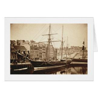 """Le yacht impérial """"La Reine Hortense"""" chez le Carte De Vœux"""
