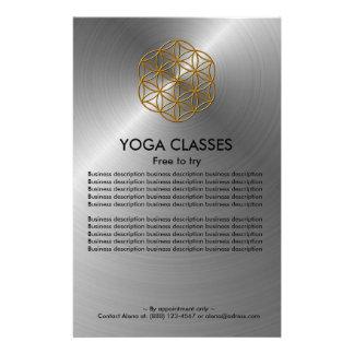 Le yoga classe l'insecte prospectus customisé
