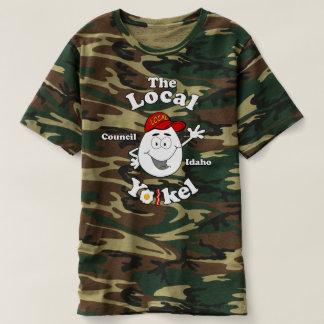 Le Yolkel local Camo T T-shirt