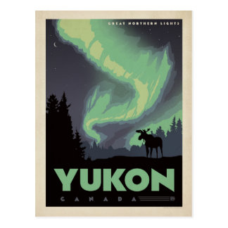 Le Yukon, Canada Cartes Postales