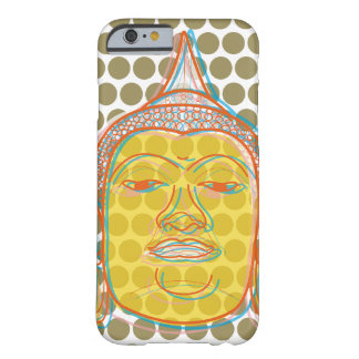 Le zen asiatique de Bouddha, bruit d'art moderne Coque iPhone 6 Barely There