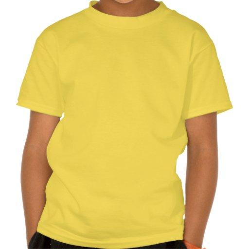 Le zombi ébrèche le T-shirt d'enfants