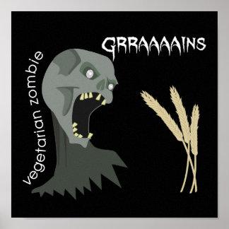 Le zombi végétarien veut Graaaains ! Posters