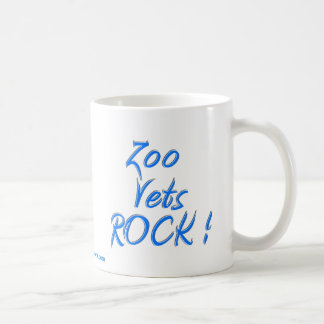 Le zoo contrôle la roche ! mug blanc