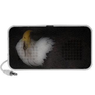 'L'Eagle chauve prestigieux Haut-parleur