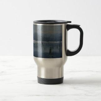 L'eau brumeuse mug de voyage