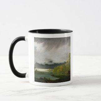 L'eau de Derwent avec Skiddaw dans la distance, Mug