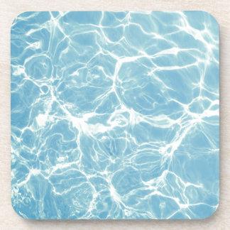 L'eau de piscine, piscine, bain, été dessous-de-verre
