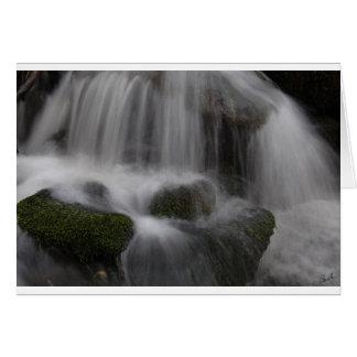 L'eau mobile 1 carte de vœux
