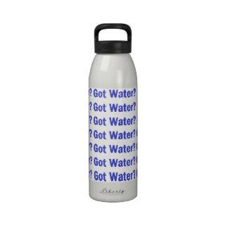 L'eau obtenue ? bouteilles d'eau