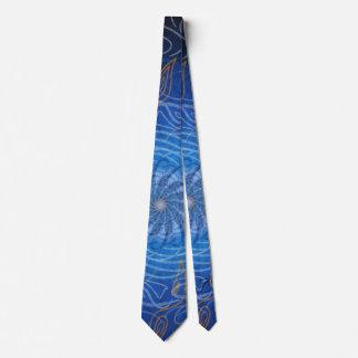L'eau personnalisable (spirograph psychédélique) cravates
