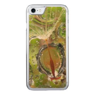 L'eau sur la graine de pissenlit, CA Coque En Bois iPhone 7