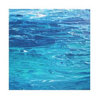 """""""L'eau vivante"""" a étiré la copie de toile"""