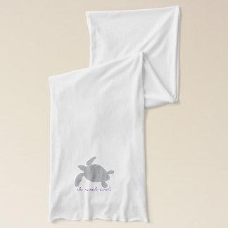 l'écharpe pourpre de tortue écharpe