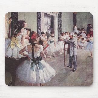 Leçon de ballet d'Edgar Degas Tapis De Souris